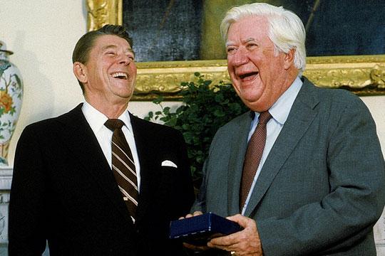Reagan Tip O'Neill